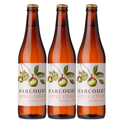 Harcourt Apple Cider (500ml – 15 Bottles / Case)