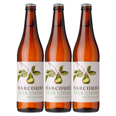 Harcourt Pear Cider (500ml – 15 Bottles / Case)