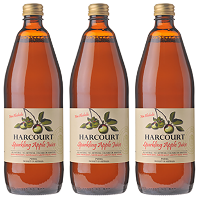 Harcourt Sparkling Apple Juice 750 Ml