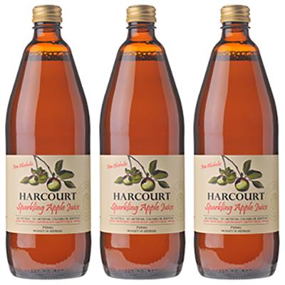Harcourt Sparkling Apple Juice (750ml – 12 Bottles / Case)