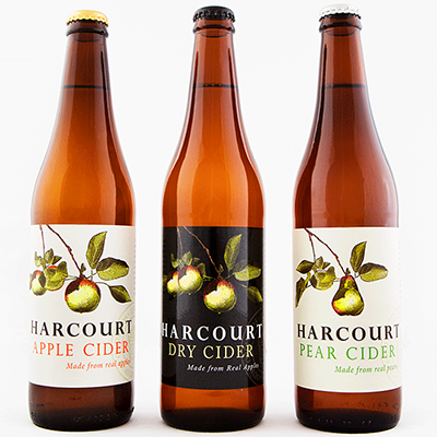 Harcourt Mixed Cider Trio (500ml – 15 Bottles / Case)