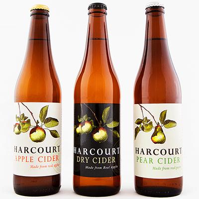 Harcourt Mixed Cider Trio (500ml – 15 Bottles / Case)