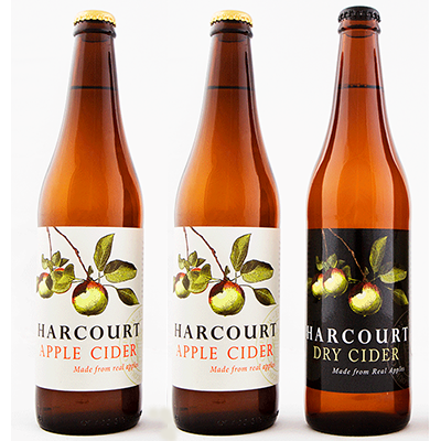 Harcourt Mixed Apple Cider Duo (500ml – 15 Bottles / Case)