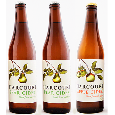 Harcourt Mixed Pear/Apple Cider Duo (500ml – 15 Bottles / Case)