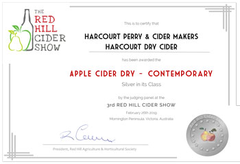 Red Hill Cider 2019 - Apple Cider Dry - Contemporary