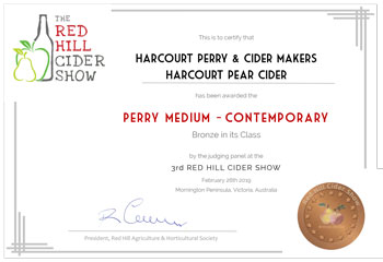 Red Hill Cider Show 2019 - Perry Brone