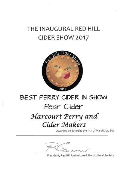 Red Hill 2017 Pear Silver