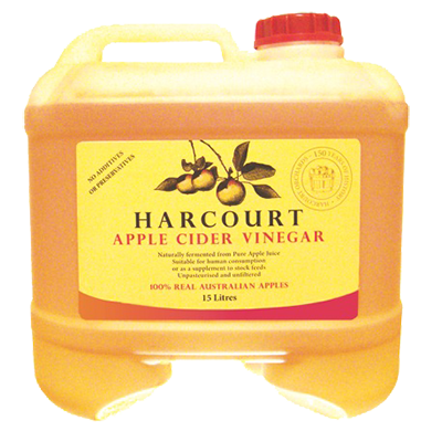 Harcourt Apple Cider Vinegar - 15L Bulk